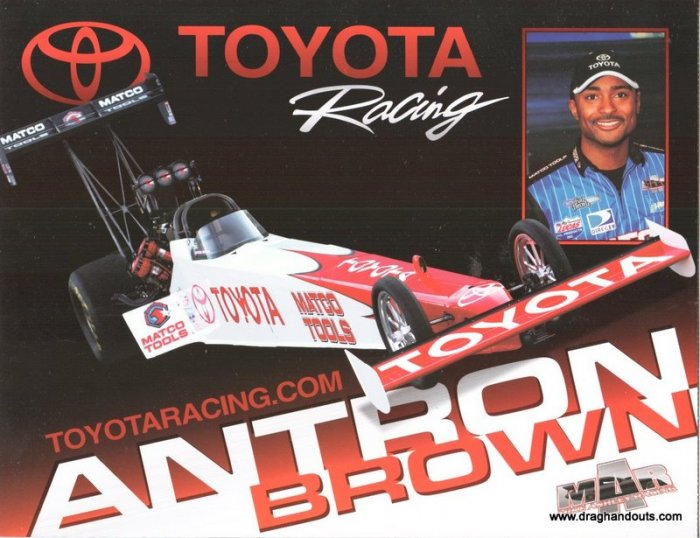 2009 TF Handout Antron Brown version #2 Toyota