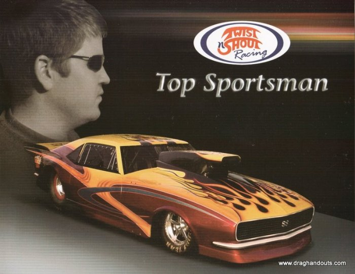 2006 Sportsman Handout Aaron Glaser TS