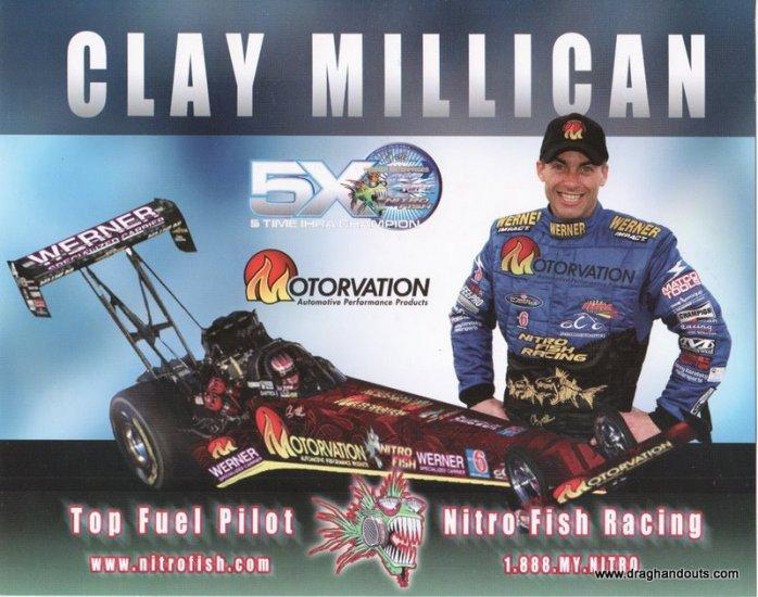 2006 NHRA TF Handout Clay Millican (version #5)