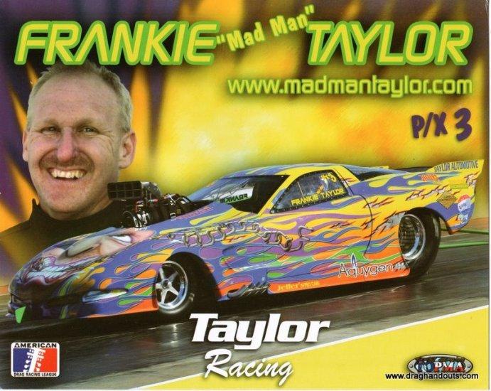 2009 PM Handout Frankie Taylor