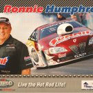 2011 NHRA PS Handout Ronnie Humphrey