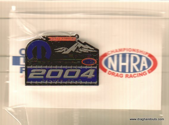 2004 NHRA Event Pin Denver Free Shipping