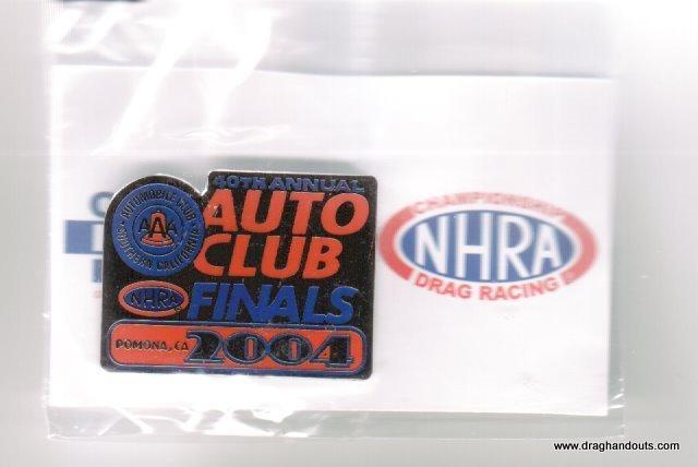 2004 NHRA Event Pin Pomona Finals