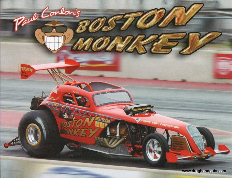 2011 Nostalgia Altered Handout Boston Monkey