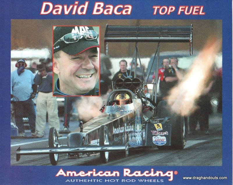 2003 NHRA TF Handout David Baca (version #1)