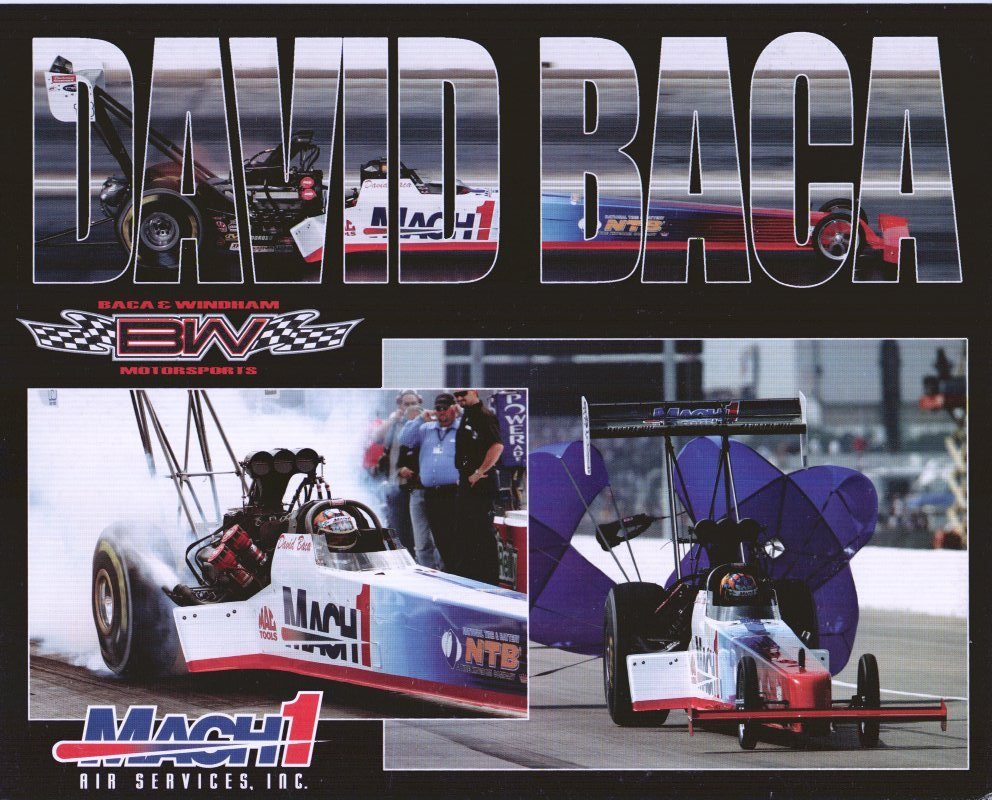 2006 NHRA TF Handout David Baca (version #1)