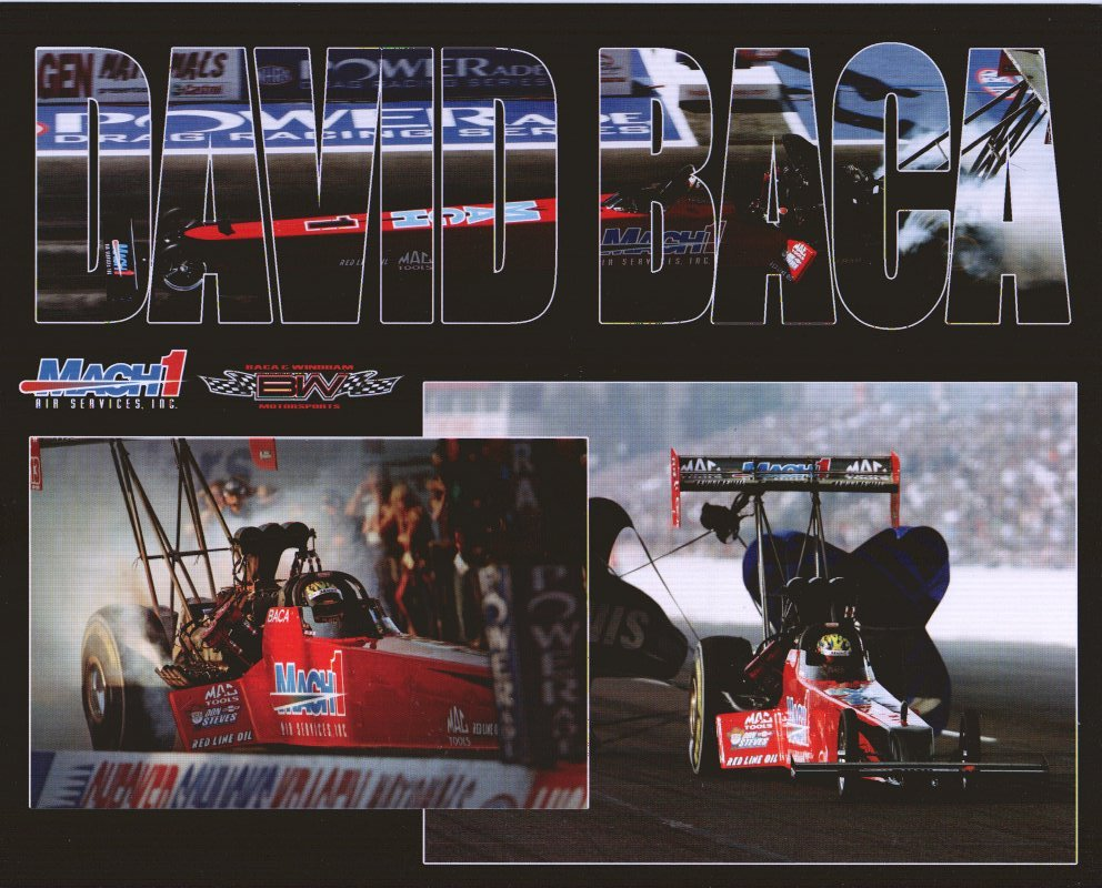 2006 NHRA TF Handout David Baca (version #2)