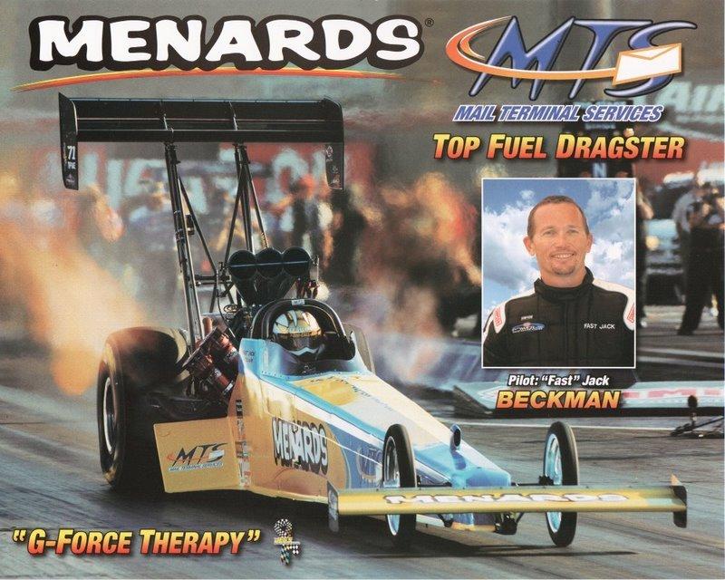 2005 NHRA TF Handout Jack Beckman