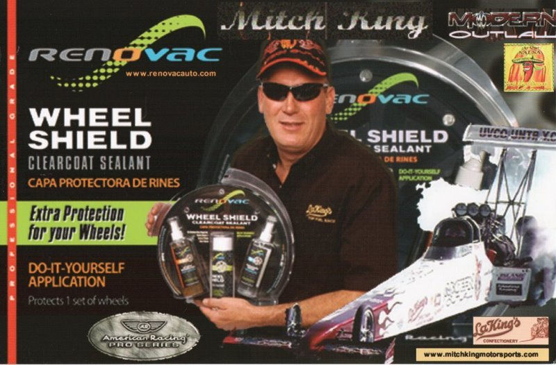 2005 NHRA TF Handout Mitch King