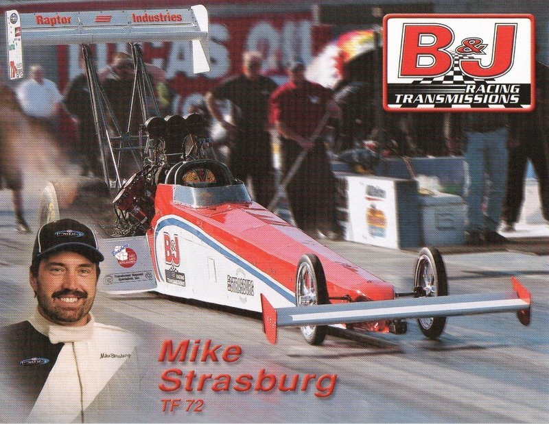 2005 NHRA TF Handout Mike Strasburg (version #1)