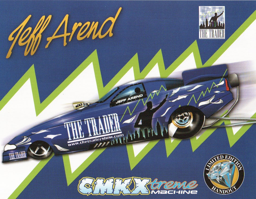 2005 NHRA FC Handout Jeff Arend (version #1)
