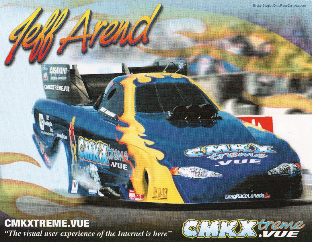 2005 NHRA FC Handout Jeff Arend (version #3)