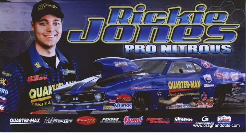 2011 NHRA PM Handout Rickie Jones