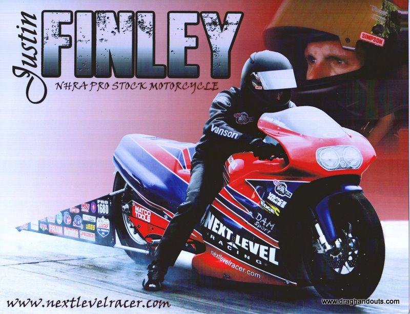 2011 NHRA PSB Handout Justin Finley (version #2)