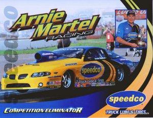 2011 NHRA Sportsman Handout Arnie Martell