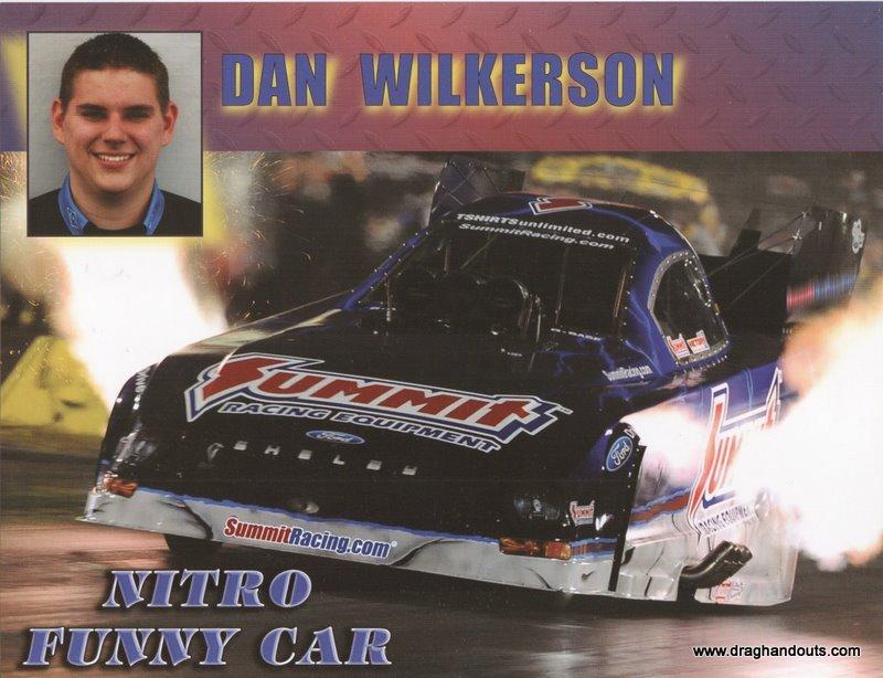 2011 NHRA FC Handout Dan Wilkerson