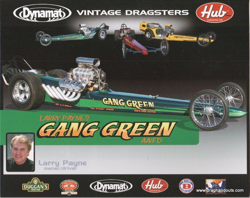 "2011 Nostalgia FED Handout ""Gang Green"""
