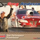 2011 NHRA PS Handout Greg Anderson
