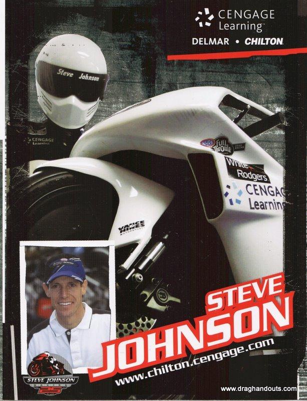 2011 NHRA PSB Handout Steve Johnson (version #1)