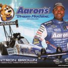 2011 NHRA TF Handout Antron Brown (version #2)