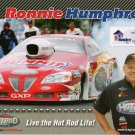 2012 NHRA PS Handout Ronnie Humphrey