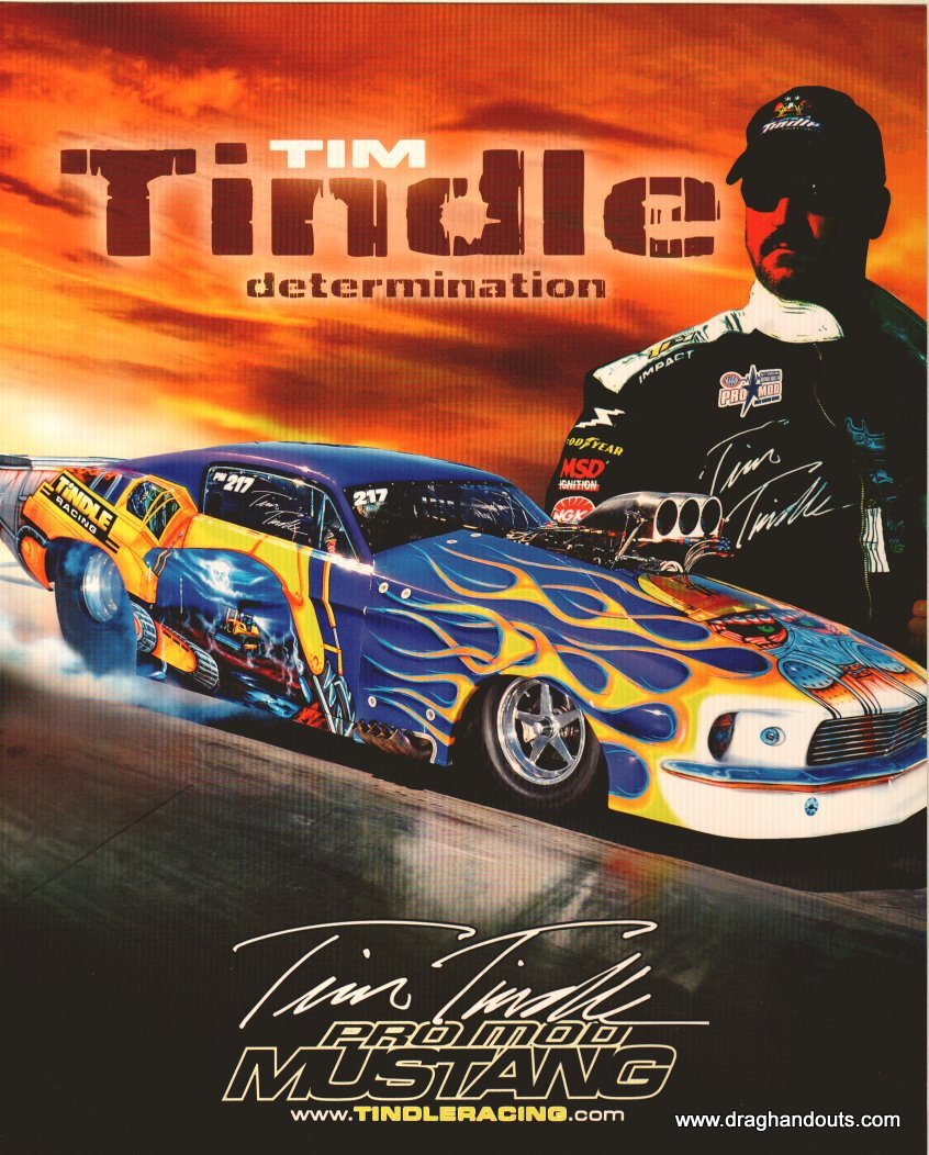 2011 NHRA PM Handout Tim Tindle