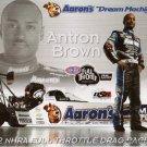 2012 NHRA TF Handout Antron Brown (Aaron's)