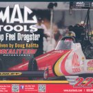2012 NHRA TF Handout Doug Kalitta (Mac Tools #1)
