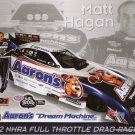 2012 NHRA FC Handout Matt Hagan (Aarons version #1)