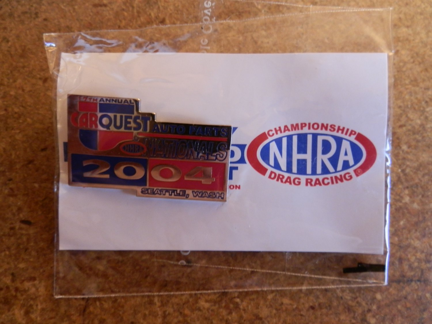 2004 NHRA Event Pin Seattle