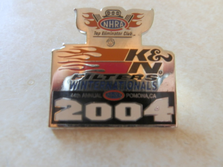 2004 NHRA Event Pin Pomona Winternationals TEC