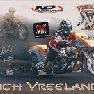 2013 NHRA NH Handout Rich Vreeland