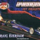 """2013 NHRA """"Avenger"""" Jet Dragster Handout"""