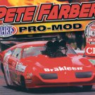 2013 NHRA PM Handout Pete Farber