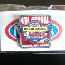 2013 NHRA Event Pin Charlotte 4 Wide (version #1)
