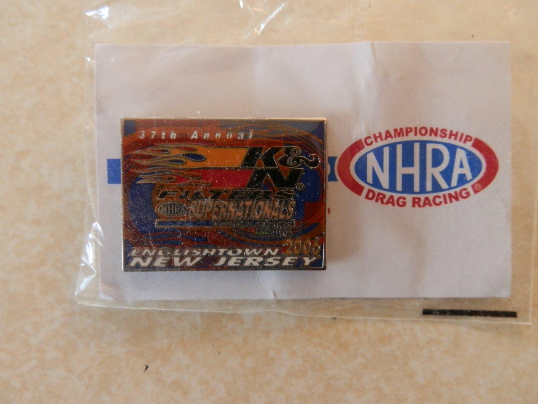2006 NHRA Event Pin Englishtown