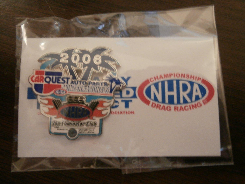 2006 NHRA Event Pin Pomona (Winternationals) Top Eliminator Club