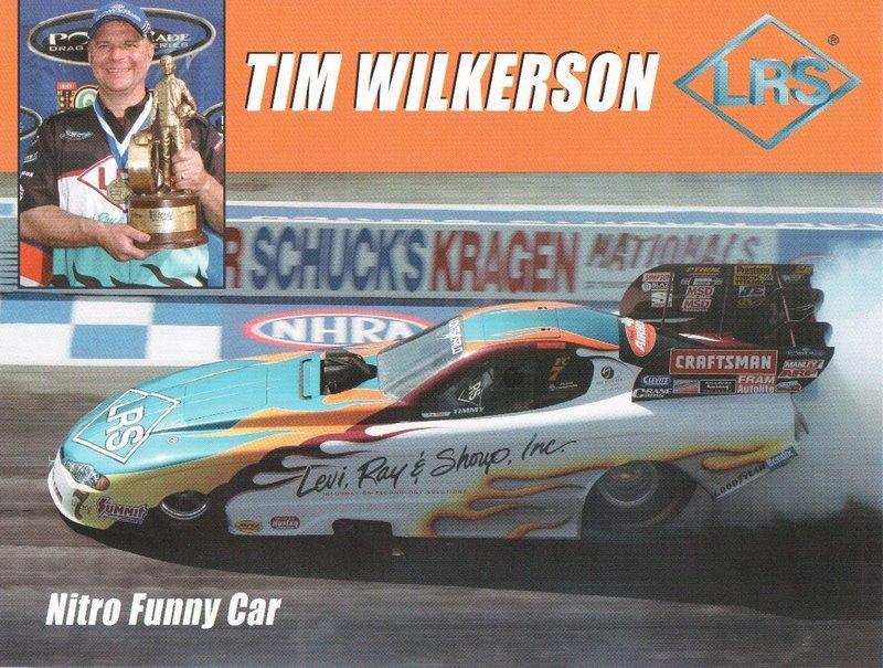 2005 NHRA FC Handout Tim Wilkerson (version #1)