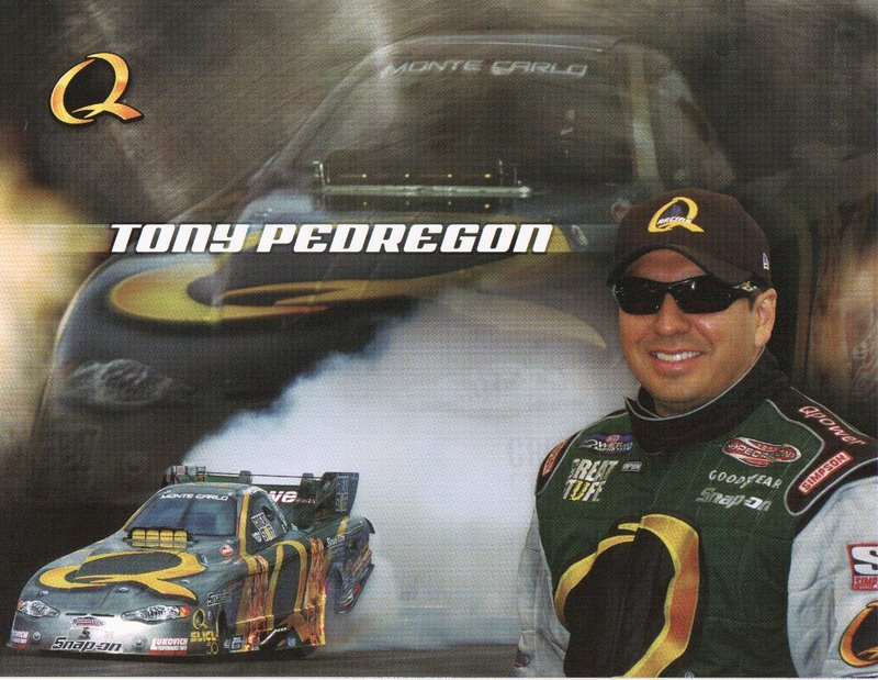 2005 NHRA FC Handout Tony Pedregon