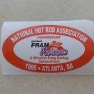 1995 NHRA Contestant Decal Atlanta