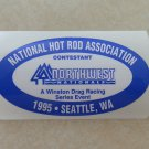 1995 NHRA Contestant Decal Seattle