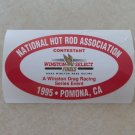 1995 NHRA Contestant Decal Pomona Finals
