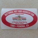 1995 NHRA Contestant Decal Pomona Finals