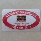1995 NHRA Contestant Decal Houston