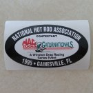 1995 NHRA Contestant Decal Gainesville