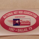 1997 NHRA Contestant Decal Dallas 1