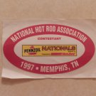 1997 NHRA Contestant Decal Memphis