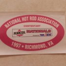 1997 NHRA Contestant Decal Richmond