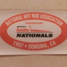 1997 NHRA Contestant Decal Sonoma