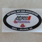 2001 NHRA Contestant Decal Atlanta